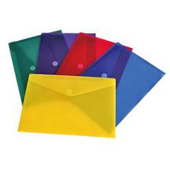 Fld5022 Velcro Flap Poly Envelopes Letter 6 Pack Amc