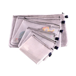 BCC064 Mesh Clear Bags - 1/Pack