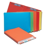 FLD0004 End Tab Poly File Folders - 24/Pack