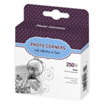 MSC1674 Clear Poly Photo Corners - 250/Box