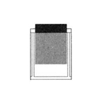 PSP2505 Stick-On Poly Pocket 3 x 3-3/4 - 100/Pack