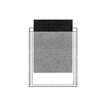 PSP2520 Stick-On Poly Pocket 4-1/4 x 5-1/2 - 100/Pack