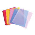BND0313 Poly Binder Page with Angle-Cut Pocket - 5/Pack