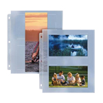 PPP05 Poly Photo Pages - 25/Pack