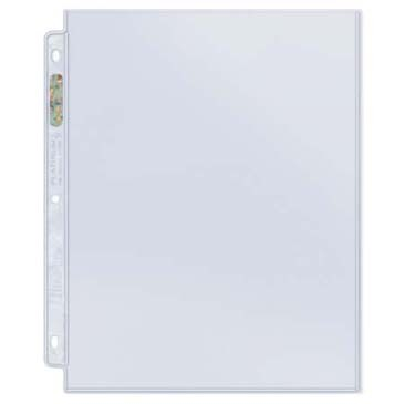 ENV0008  Poly Sheet Protector, Heavyweight, Ultra Clear - 25/pack