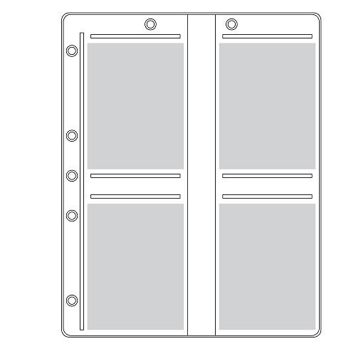ENV0460 Folder Binder Page Holds 4- Polaroid