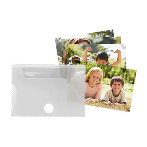 FLD0815-CL Clear Photo Box 4x6 - 1/Pack