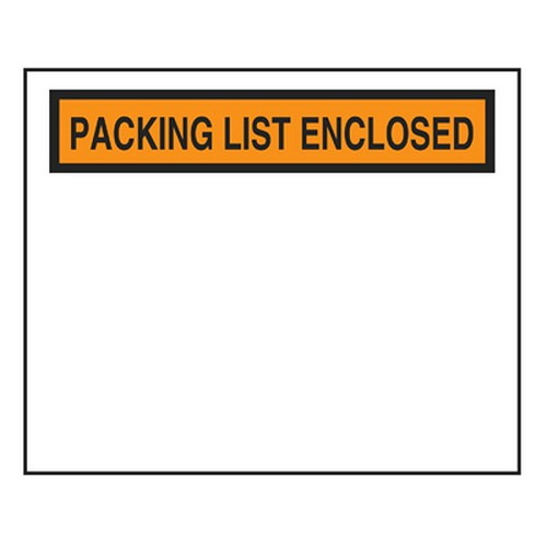 PLE4555 Packing List Envelope 4.5 x 5.5 - 1000/Pack