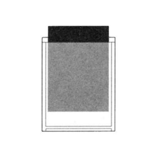 PSP2544 Stick-On Poly Pocket 5 x 6-1/2 - 100/Pack