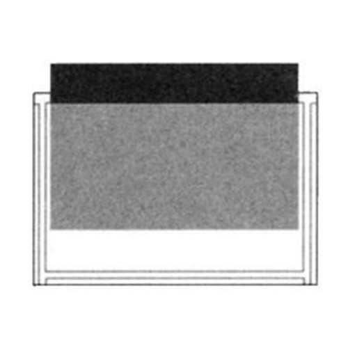 PSP2554 Stick-On Clear Poly Pocket 7 x 4-3/4 - 100/Pack