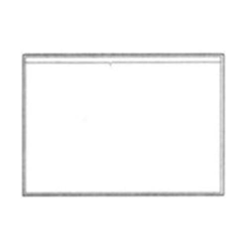 PSV2410 Stick-On Vinyl Pocket 6-1/2 x 4-1/2 - 100/Pack