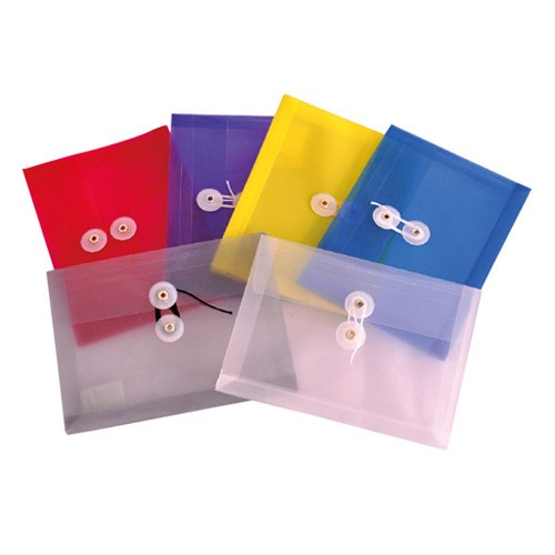 FLD0920 Expanding Envelope String & Button Coupon - 6/Pack